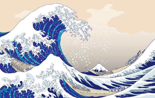 Hokusai_by_gamba87