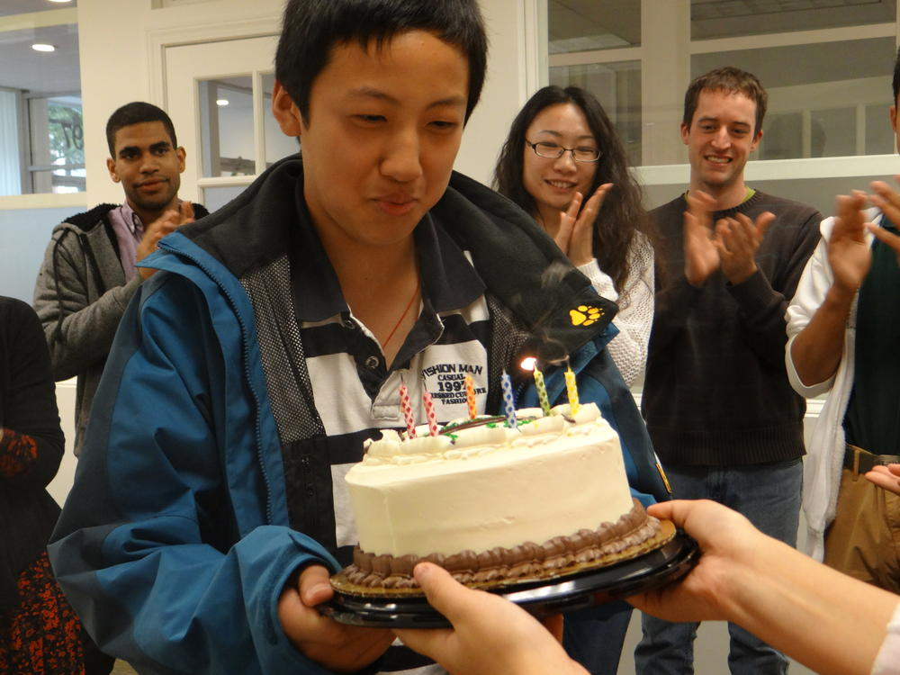 Tao Zhi and Sherill's Birthday