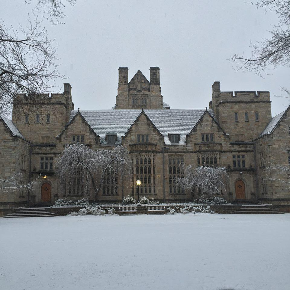 1st Snow at Yale New Haven 2015